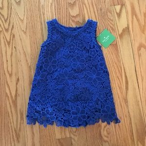Kate Spade Blue Lace Dress for Baby